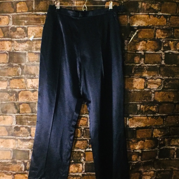 257736f0bfb2 Escada Pants - Vintage ESCADA COUTURE silk wide leg pants